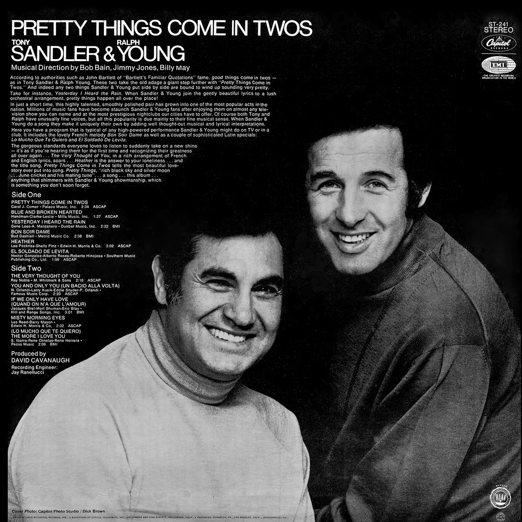 Sandler & Young - Pretty Things Come in Twos