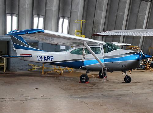 LY-ARP C182 Klaipeda 11-03-18