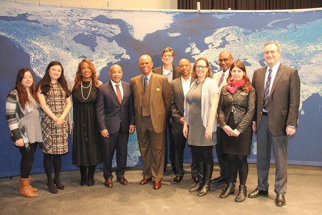 NYS Assembly Leader Heastie Tours Media & Communications Studios