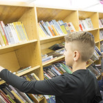 Bookmobile at Arrowood Elementary
