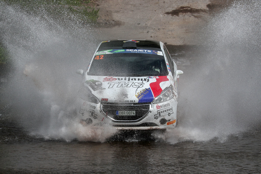 42 BROZ Dominik (cze),TESINKY Pietr,(cze) , PEUGEOT 208 R2 action action during the 2018 European Rally Championship ERC Azores rally,  from March 22 to 24, at Ponta Delgada Portugal - DPPI