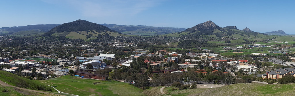 cal poly from the p