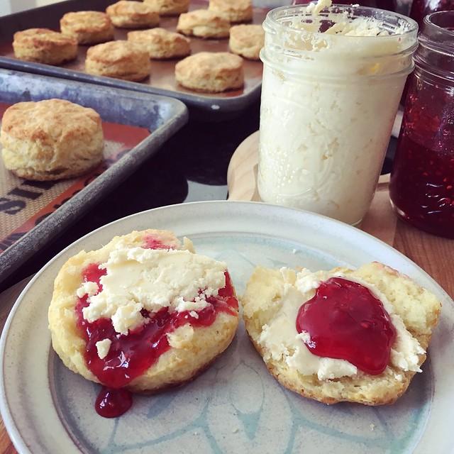 Jam then cream, or cream then jam?