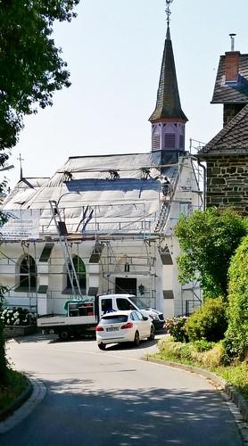16.7.17 zu Beginn der Dachrenovierung