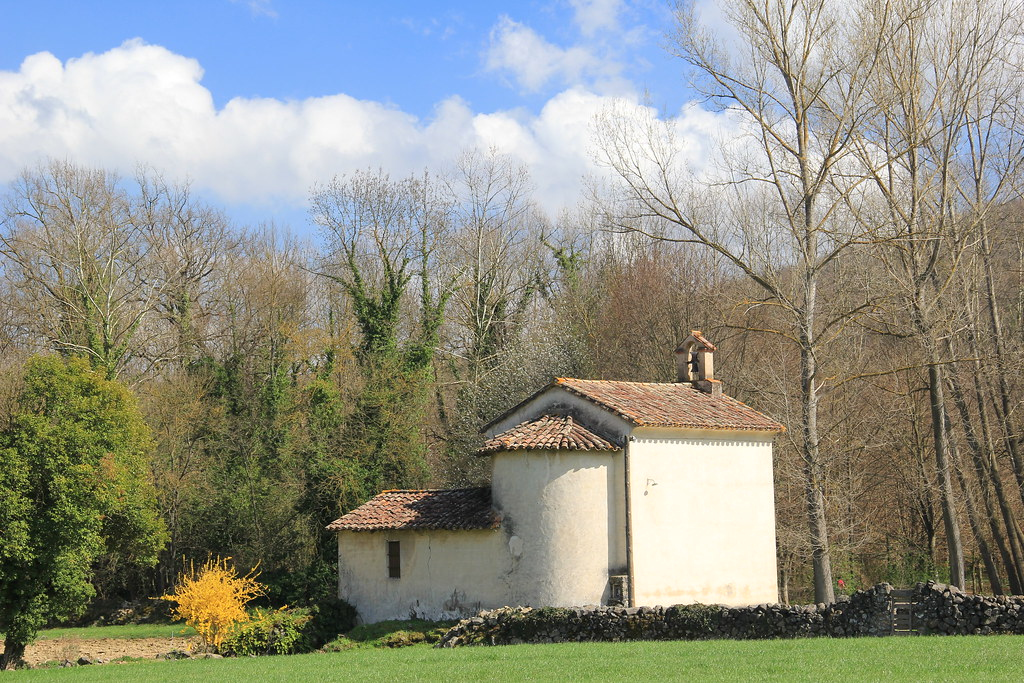 The countryside surrounding Olot