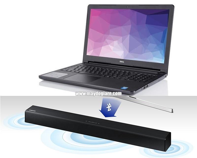 Nghe nhạc từ laptop bằng loa bluetooth