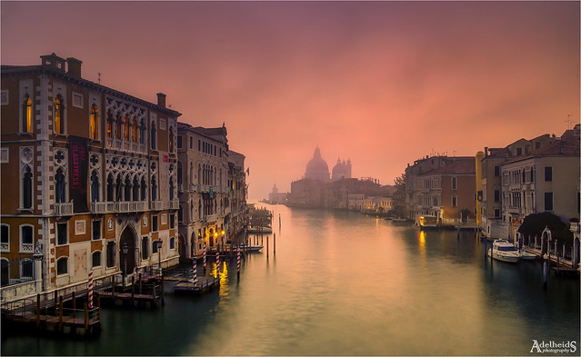 Misty Venetian Sunrise