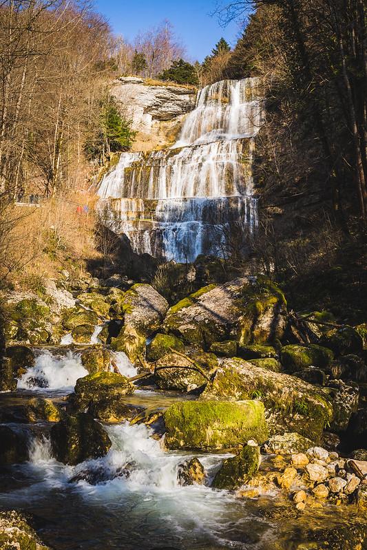 Cascades du Hérisson - Le Grand Eventail - Jura - Avril 2018