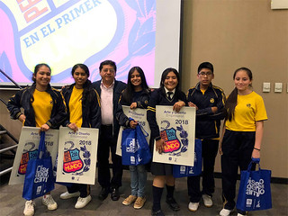Gracias a la iniciativa de la Carrera de Arte y Diseño Empresarial, la Universidad San Ignacio de Loyola premió a los trabajos más destacados del Concurso de Carteles realizado en la ciudad de Trujillo, en el marco de Expocarreras Trujillo 2018.