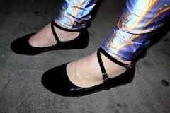 Double Strap Flats