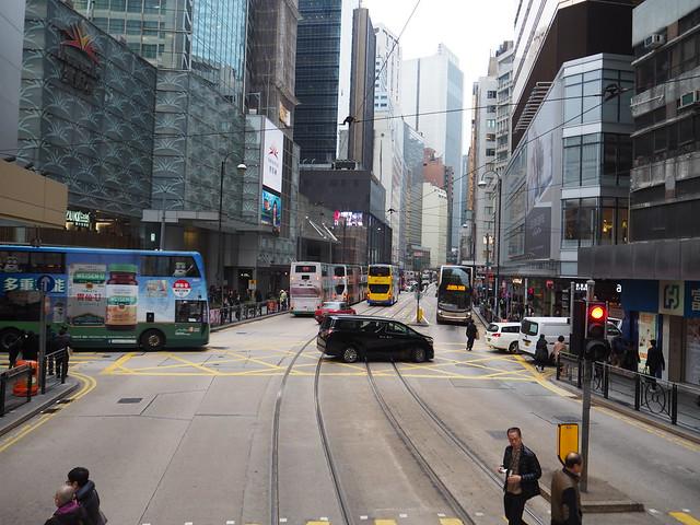 P2096202 香港トラム hongkong 運賃 香港島 ひめごと