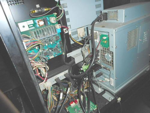 湾岸ミッドナイトの録画台の配線