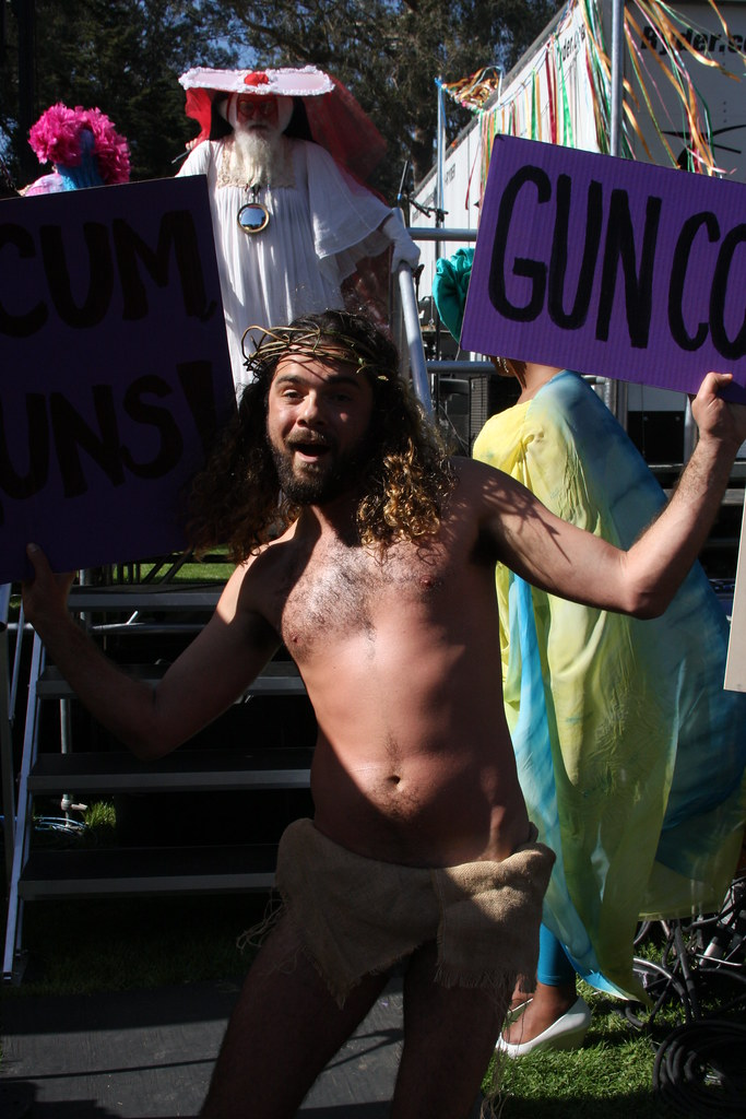 GUN CONTROL J !!!  HUNKY J CONTEST 2018 ! ( safe photo )
