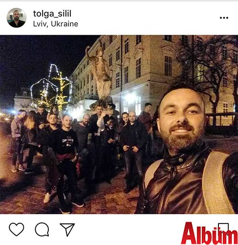 Gazeteci Tolga Şilil, Ukrayna tatilinden bu fotoğrafı paylaştı.