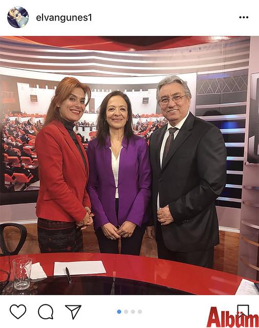 ALTAV Yöneticisi Elvan Güneş, TÜROFED Yöneticisi Gülçin Güner ve Alanya ATV sahibi Servet Sipahioğlu ile birlikte bu fotoğrafı paylaştı.
