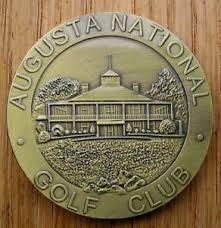 Augusta National ball marker coin