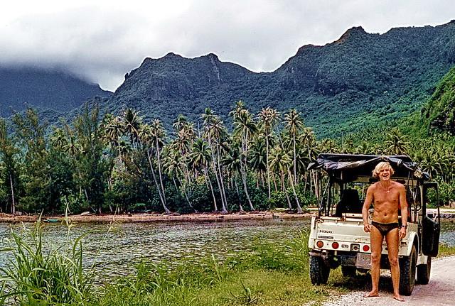 Offroad in Tahiti