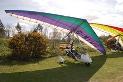 G-MYWG Solar Wings Pegasus [6998] Popham 020509
