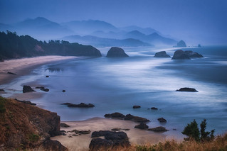 Cannon Beach & Fog