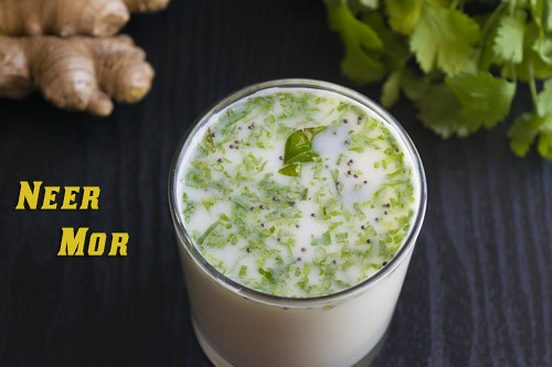 Neer Mor, Spiced Buttermilk Recipe by GoSpicy.net
