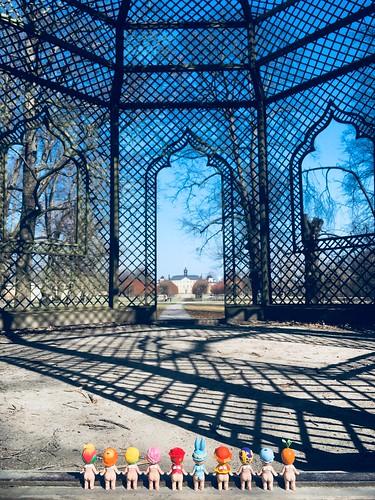 ulriksdal castle, stockholm, sweden, april 20, 2018