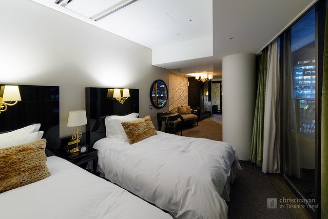 Bed room of Harmonie Embrassee Osaka (アルモニーアンブラッセ大阪)