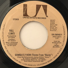 BILL CONTI:GONNA FLY NOW(THEME FROM ROCKY)(LABEL SIDE-A)