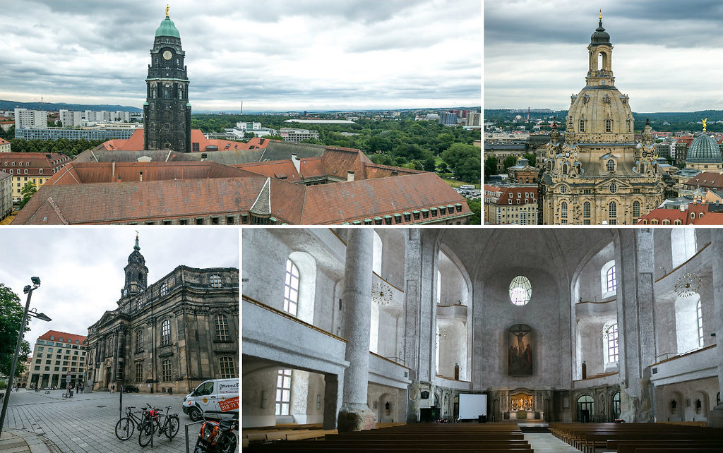 Церковь Креста в Дрездене
