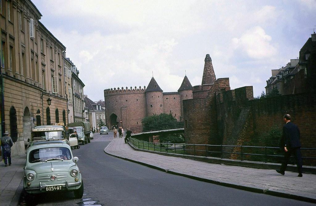 1969 год. Варшава. Варшавский барбакан.