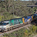 2018-03-26 Pacific National NR85-AN3-AN5-NR101-NR20 Bargo River 2MW2 by deanoj305