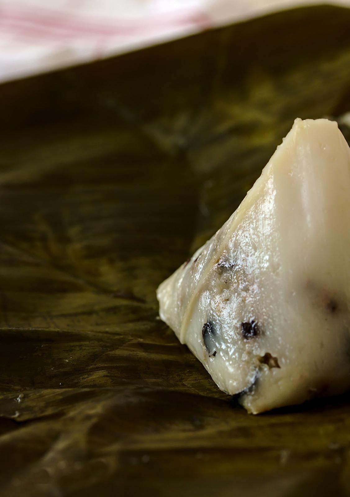 Banh gio | Rice flour and pork pyramid dumplings Recipe | platedpalate.com