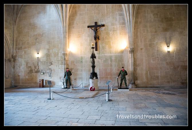 Batalha Monastery - Graf van de onbekende soldaat