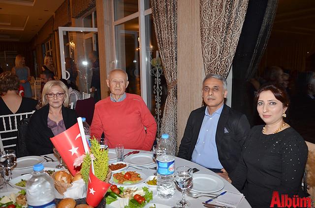 Güliz Ceylan, Uz. Dr. Hamdi Ceylan, Azer Rıza, Dr. Lamia Rıza