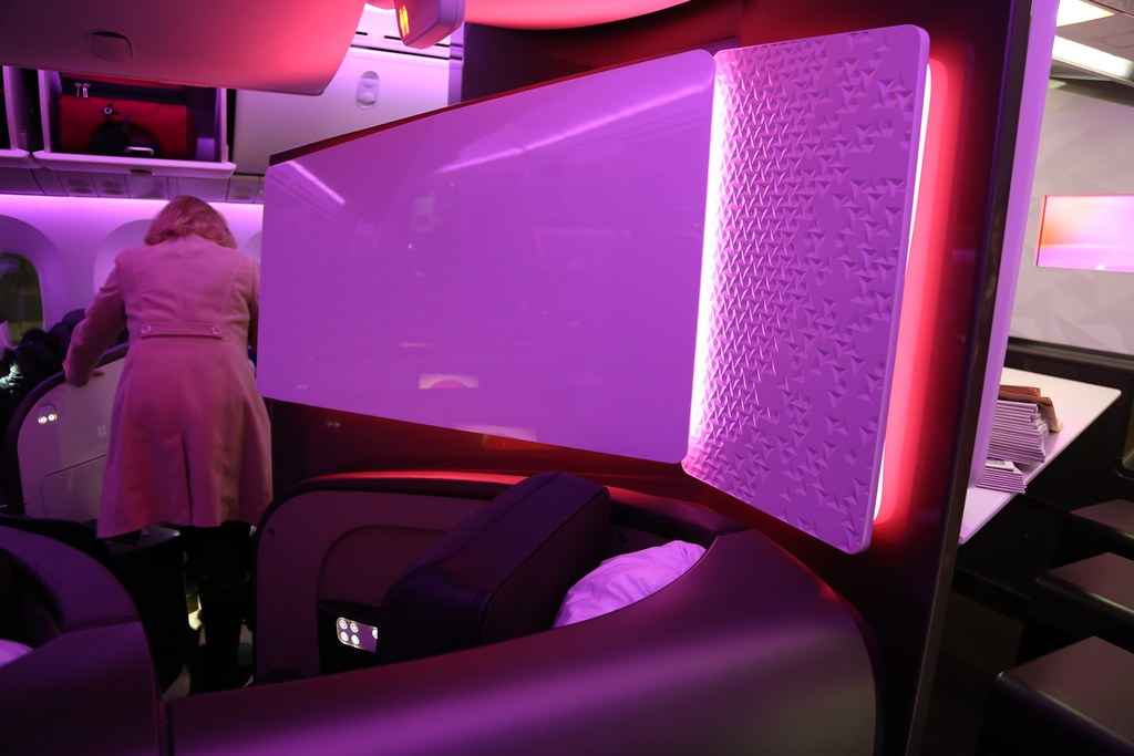 Virgin Atlantic Upper Class 11