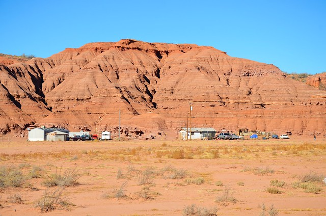 Outside Tuba City, Arizona