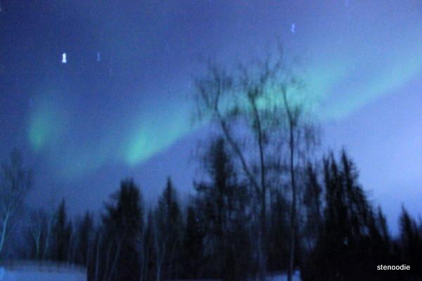 Aurora lights Yellowknife