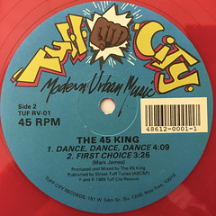 THE 45 KING:THE RED, THE BLACK, THE GREEN(LABEL SIDE-B)