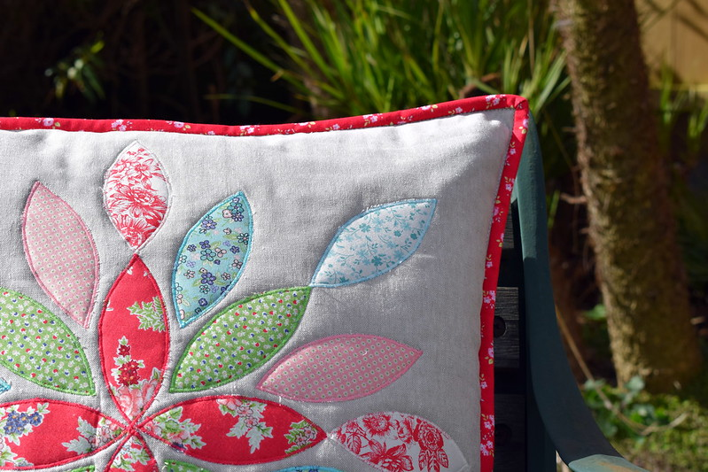 Applique Leaf Cushion Workshop April 18
