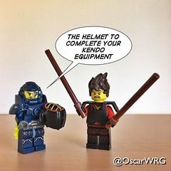 #LEGO_Galaxy_Patrol #LEGO #Kai #Kendo #Bogu #Kendogu #Bōgu #Kendōgu