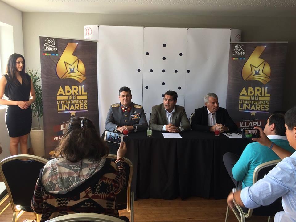 """LINARES; Realizan Lanzamiento de las Actividades de """"La Patria Comienza en Linares"""""""
