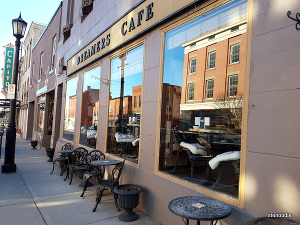 Dreamers' Cafe patio