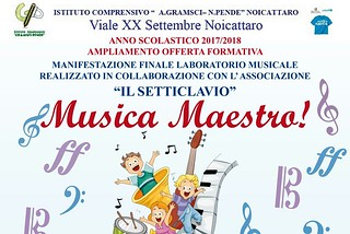 Noicattaro. musica maestro front