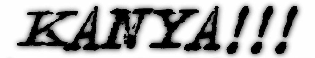 Kanya 3 - Logo Negro - Fondo Blanco