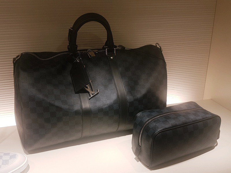 Louis Vuitton Cobalt Keepall