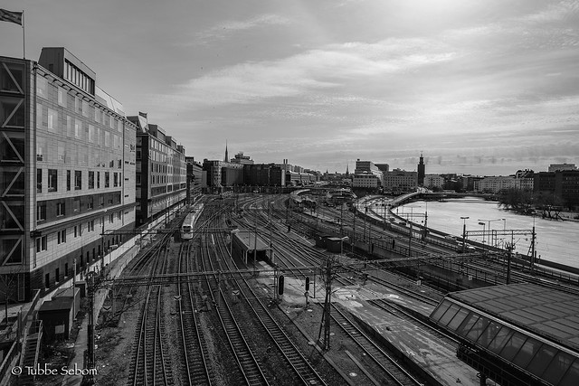 Stockholm Central Station from, Fujifilm X-T2, XF14mmF2.8 R