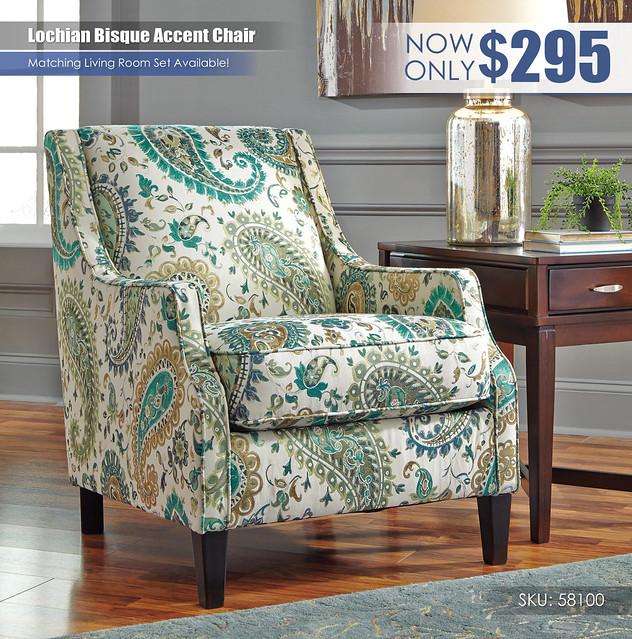 Lochian Bisque Accent Chair_58100-21