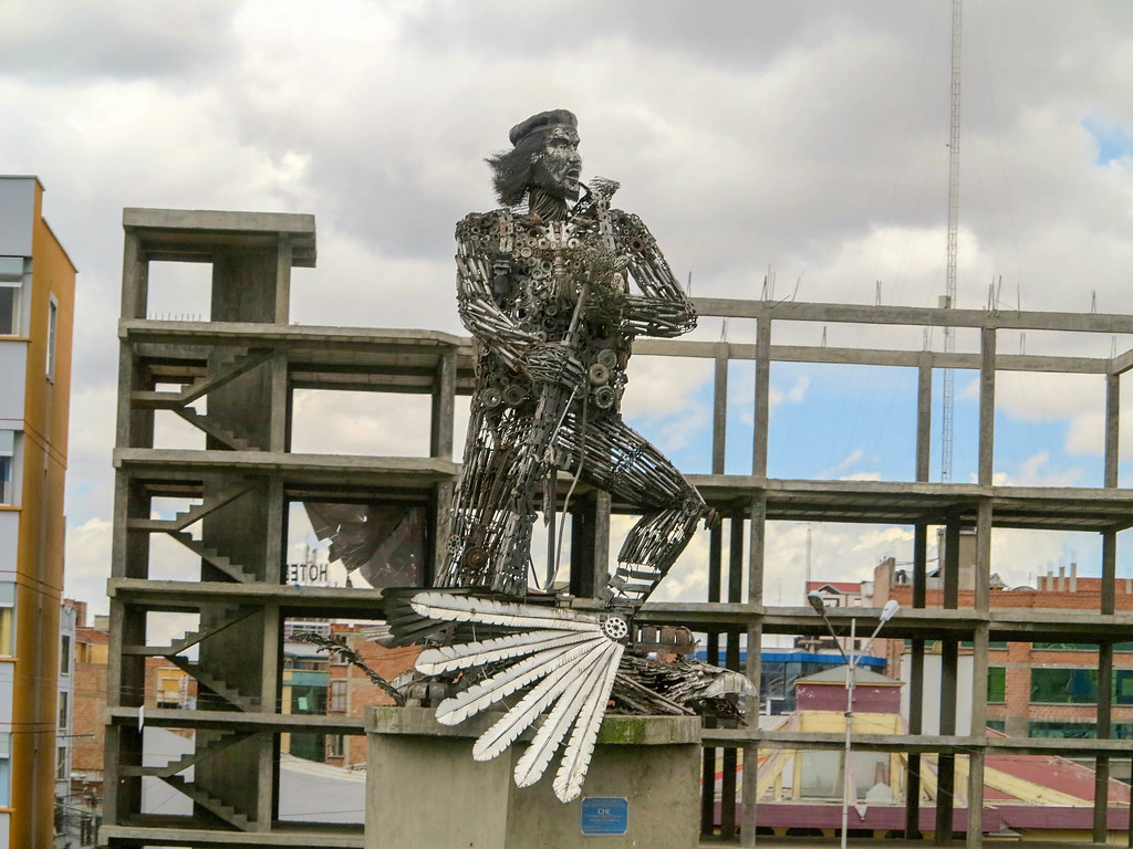 Escultura en La Paz