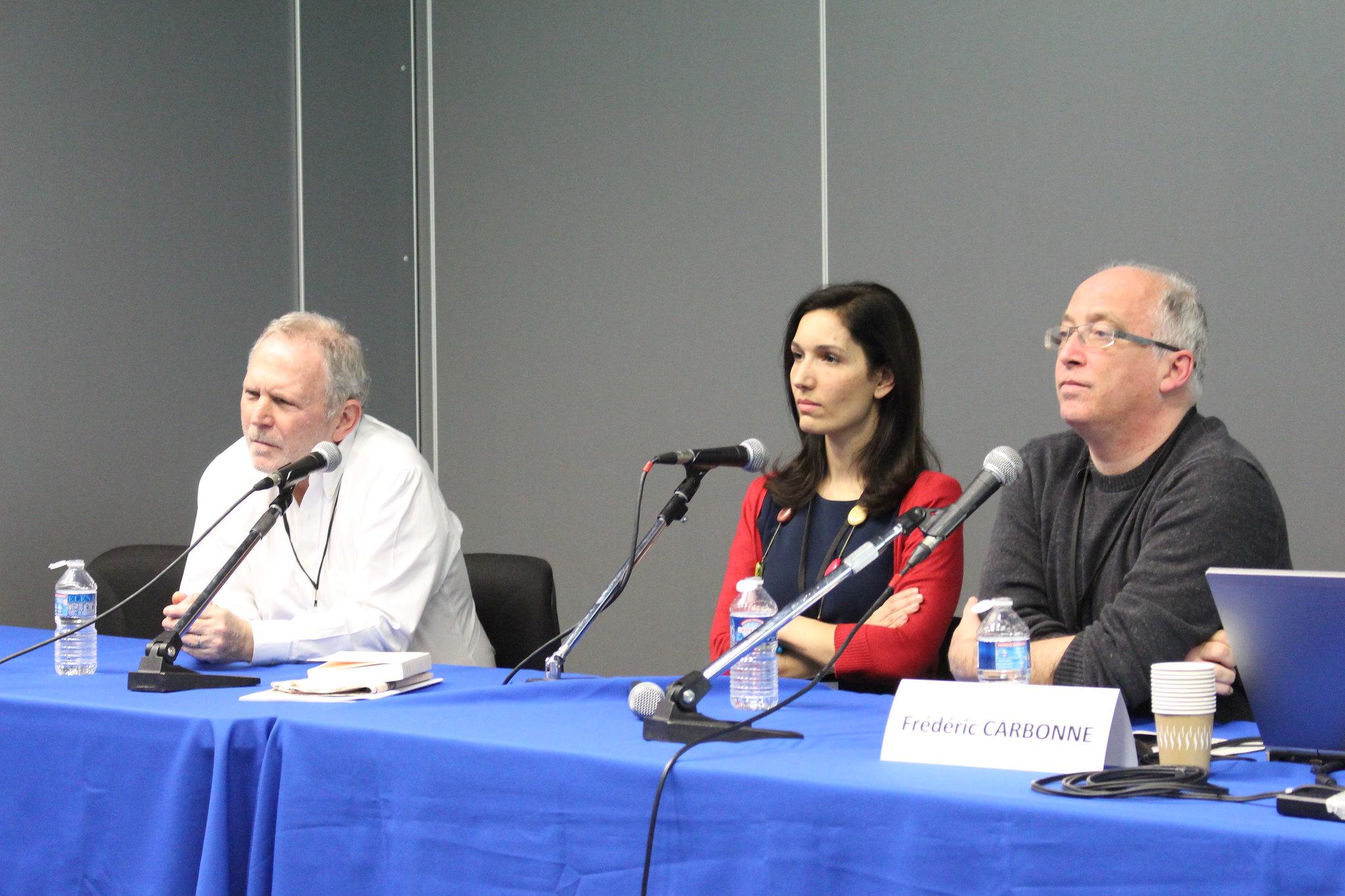 Delphine Minoui et Bernard Guetta, journalistes témoins de l'histoire. Photo : Thomas Cuny