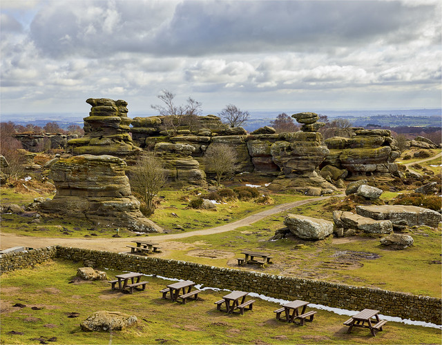 Brimham Rocks March 2018