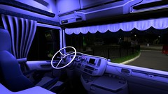 Custom nextgen Scania interior
